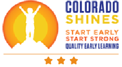 Colorado Shines 3 Star Rating Logo