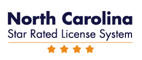 North Carolina Star Rated License System 4 Star Logo