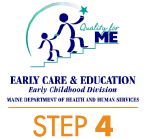 Quality for ME Early Care & Education Rating - Step 4 Logo