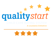 Louisiana Quality Start Quality Rating and Improvement System - 4 Star Logo