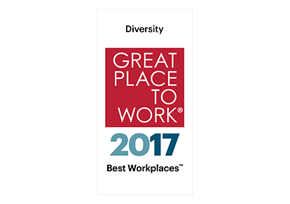 Fortune Best Workplaces for Diversity 2017 Award Logo