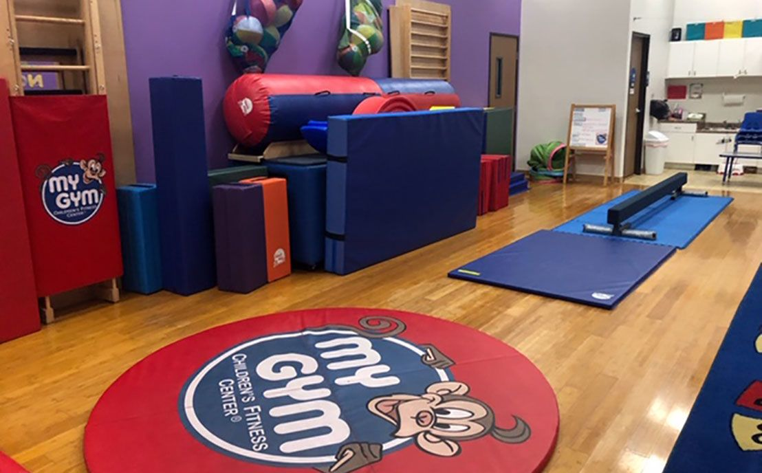 My Gym space at CHALK Preschool