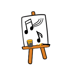 Art Smart Easel Icon