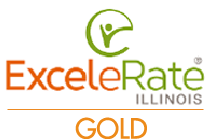 ExceleRate Illinois Gold Logo