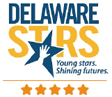 Delaware Stars for Early Success 5 Star Logo